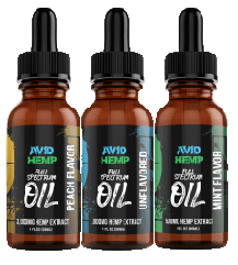 Avid Hemp CBD oils