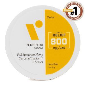Receptra Relief Targeted Topical 800mg