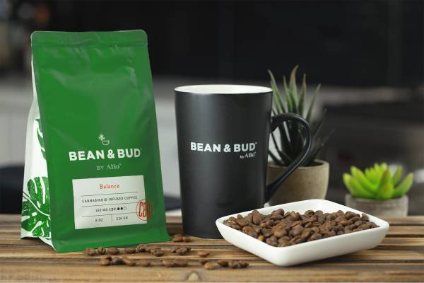 Allo CBD - Bean & Bud Coffee